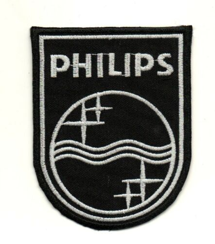 PHILIPS Electric Logo P951 Embroidered Ironon Patch High Quality Jacket Bag Cap