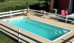 Pool gfk schwimmbecken 5 4 x 3 x 1 5 inkl technikpaket swimmingpool komplettset ebay - Gfk pool komplettset ...