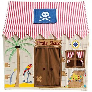 Image is loading Fabric-Pirate-Shack-Children-039-s-Playhouse-Play-  sc 1 st  eBay & Fabric Pirate Shack Childrenu0027s Playhouse / Play Tent / Wendy House ...