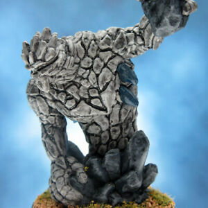 Painted-Dungeons-and-Dragons-Miniature-Medium-Earth-Elemental