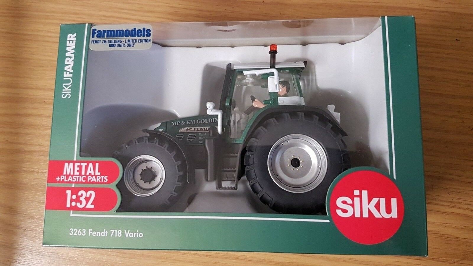 SIKU Modèle Tracteur-oring Limited Edition 1 32