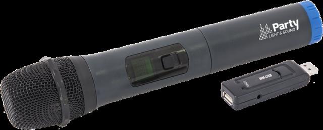 Micro Manos Uhf Opcional Port8, Entrada12,Port15 &Port85 WM- USB u Otros