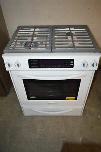 Kitchenaid Kgss907swh 30 White Slide In Gas Range 19680 T2 Clw