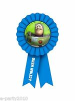 Toy Story Buzz Lightyear Guest Of Honor Ribbon Birthday Party Supplies Favors