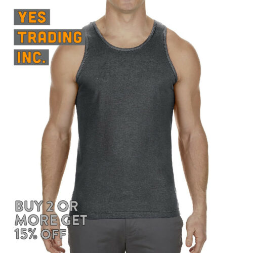 AAA ALSTYLE 1307 MENS CASUAL TANK TOP SLEEVELESS T SHIRT MUSCLE SHIRTS GYM TEE
