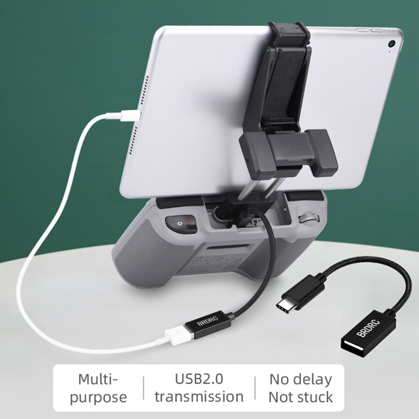USB C TO USB A OTG Adapter Cable for DJI Mavic AIR 2/FPV Goggles V2 Phone Part
