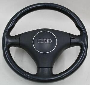 AUDI-8E0419091BA-Tiptronic-Leather-Steering-Wheel-amp-Airbag-for-A4-B6-2003