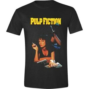 Pulp-Fiction-Classic-Poster-T-Shirt-Official-Merchandise-M-L-XL-Rar-amp-Neu