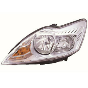FORD-FOCUS-MK3-2008-2011-CHROME-HEADLIGHT-HEADLAMP-PASSENGER-SIDE-NEAR-SIDE-LH