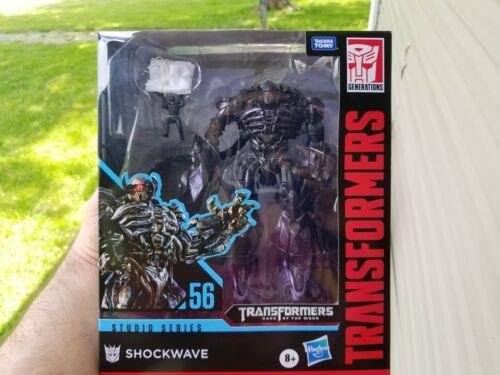 Transformers Hasbro Takara Tomy Studio Series SS56 Shockwave in stock MISB