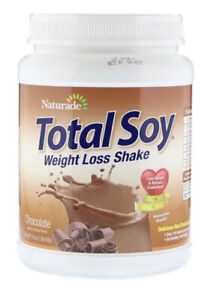 Chocolate Weight Loss Shake, Meal Replacement, Total Soy, Naturade,1.2lb