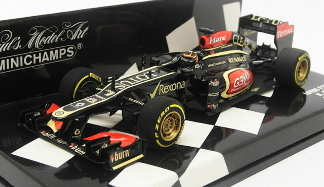 Minichamps Escala 1/43 410 130077-Lotus F1 Showcar 2013 K. Raikkonen