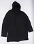 miniature 1 - NEXT-Homme-taille-L-en-coton-melange-gris-a-capuche-Manteau