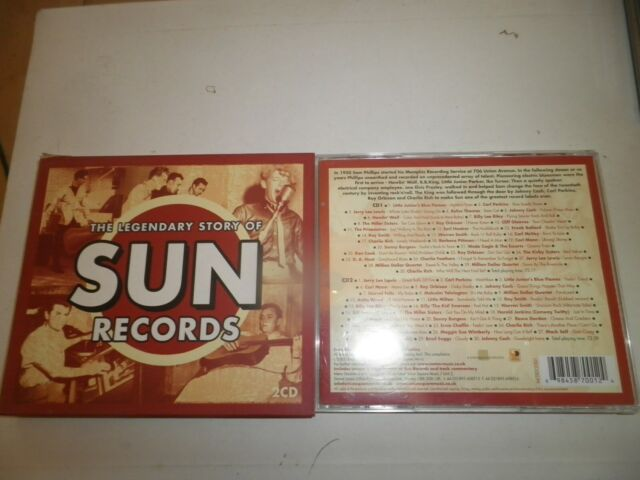 The Legendary Story Of Sun Records (2CD 2002) Jerry Lee Lewis, Orbison, Cash Etc
