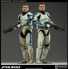 1/6 Sixth Scale Star Wars Clone Troopers Echo & Fives Set by Sideshow
