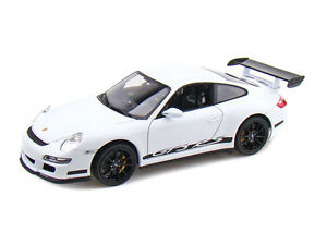 Welly-18015-Porsche-911-997-GT3-RS-Coupe-Modelo-Coches-Verde-Gris-Naranja-Blanco-1-18