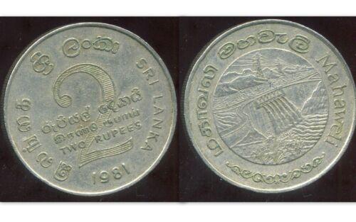etat SRI LANKA  2  rupees 1981