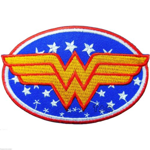 Top Quality Iron-On Patch! WONDER WOMAN DC Comics Heroine Series Belt Logo