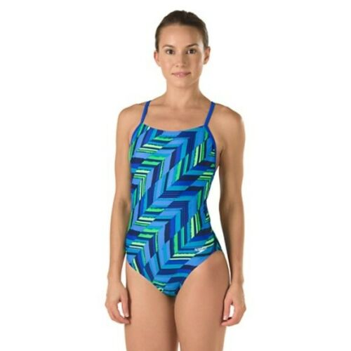 Speedo Women/'s Endurance Angles Free Back One Piece Competition Swimsuit