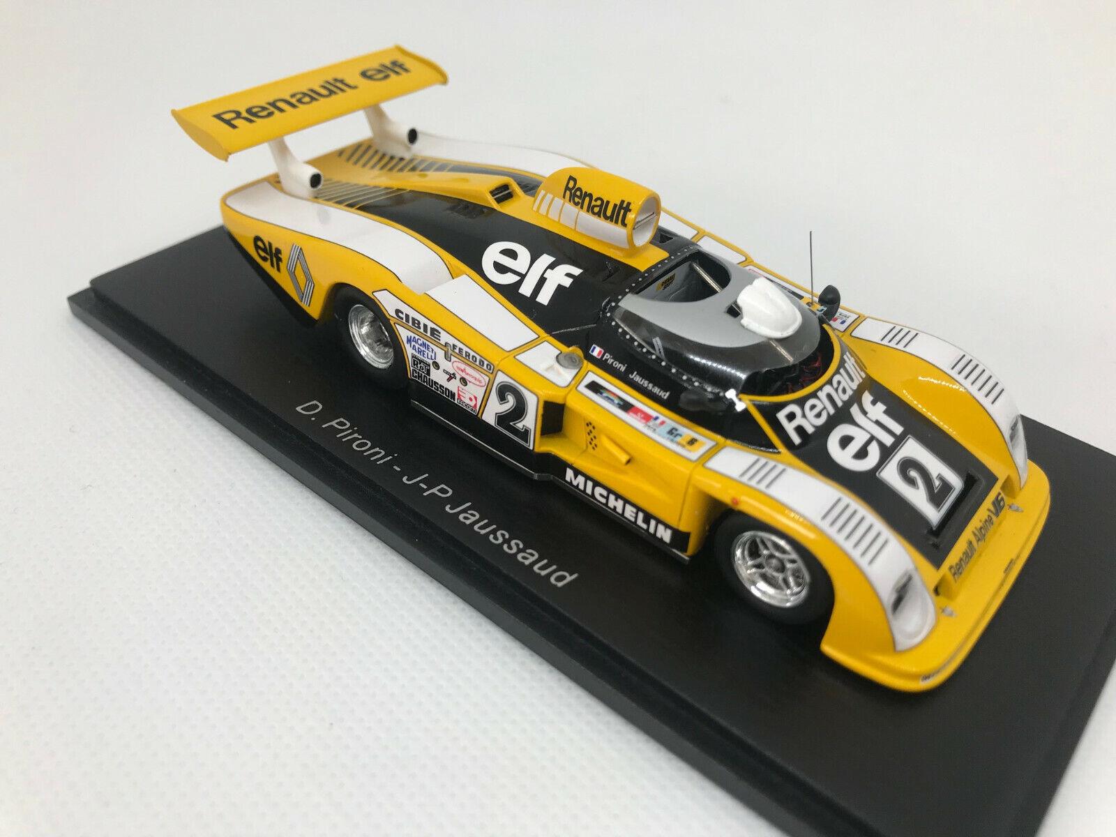 Venta al por mayor barato y de alta calidad. 1 43 Renault-Alpine a442    2 D. pironi jp Jaussaud victoria 24h Lemans ' 78 Spark 43lm78  Ahorre 35% - 70% de descuento