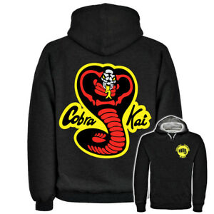 KARATE-KID-COBRA-KAI-HOODIE-HOODED-TOP-BRUCE-LEE-KUNG-FU-HANS-DRAGON-CHUCK
