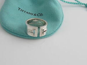 36b786871 Image is loading Tiffany-amp-Co-NEW-MINT-Silver-T-Cutout-