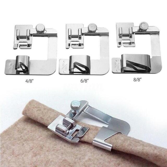 Hemming Cloth Strip Presser Foot Sewing Machine Parts Hemmer Rolled Hem Foot