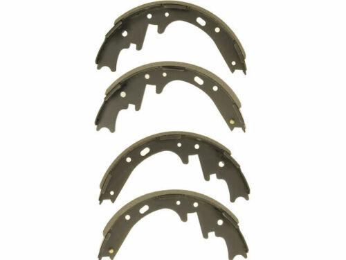 For 2000-2004 Dodge Dakota Brake Shoe Set Rear API 29789YC 2001 2002 2003