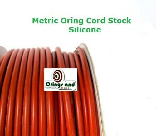 Metric Silicone O-ring Cord 2.62mm Price for 2 ft