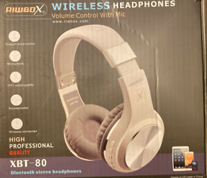 New Folding Stereo Wireless Bluetooth Headphones W Microphone Pc Cell Phones Ebay