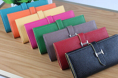 Women Card Coin Key Holder Soft PU Leather Wallet Pouch Bag Purse A1F