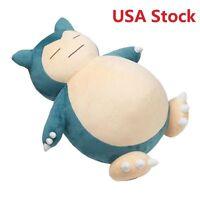 Jumbo Snorlax Pokemon Center Kabigon Plush Toy Soft Doll Figure Gift 30|50|55cm