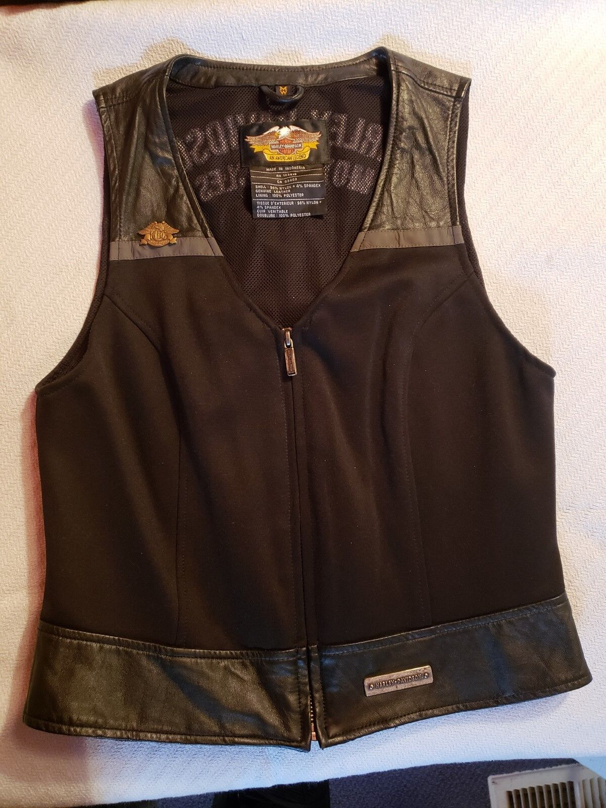 Harley Davidson Womens Vest M