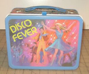 1980 DISCO FEVER VG+++ Condition Metal Lunch Box - No Thermos - King Seeley