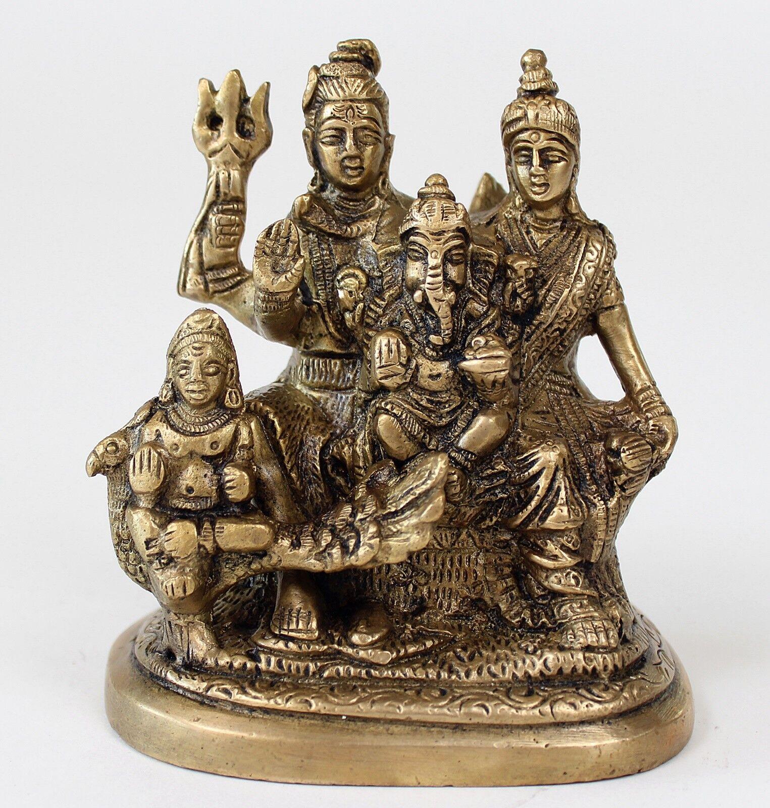 TOLLE SHIVA FAMILY 11 11 11 CM HOCH HIMALAYA BUDDHA DANCING NATARAJA  YOGA MEDITATION 893558