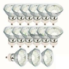15 x GU10 20LED 110V 80-90LM 6500K New LED Light Bulb Pure White Energy Saving