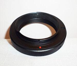 a estrenar en caja SLR o cámaras DSLR Anillo Adaptador de montaje T//T2 Lente Para Pentax PK