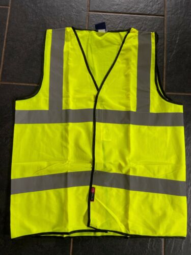 Hi Viz Leo Pack of 3 Vests Class 2 BS EN 471.