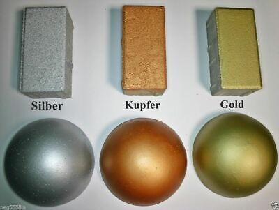Betonfarbe Gold Temperamentvoll 6,32 Eur / 100 G Acryl-silikon Color 250 G Kupfer üBerlegene Materialien Silber