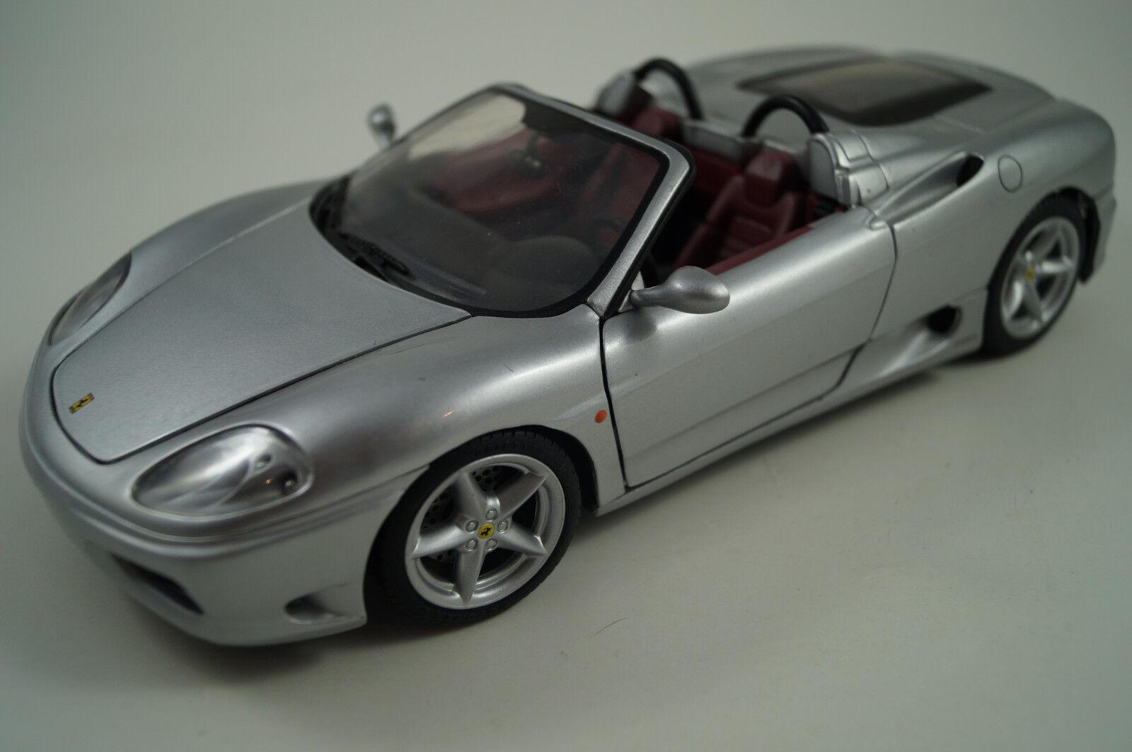 HOT WHEELS modello di auto 1:18 FERRARI 360 SPIDER