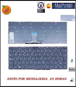 Tastiera-Spagnolo-Nuovo-Portatile-Lenovo-Ideapad-NSK-BX1SN-TEC33