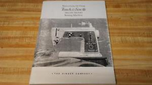 Singer 600E Touch /& Sew Operating Instructions