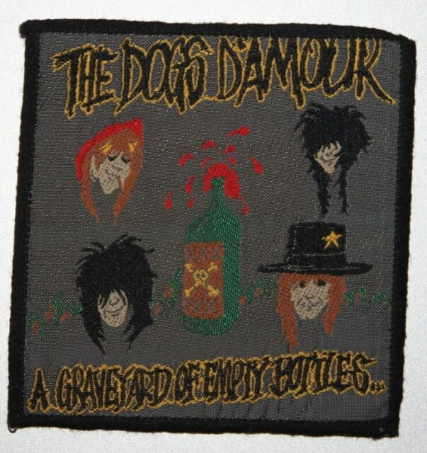 The Dogs D'Amour , A Graveyard of Empty Bottles Patch , Vintage