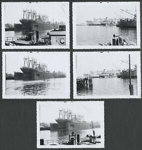 Richmond-CA-Five-1962-Photos-TODD-SHIPYARDS-Dry-Dock-SS-Phillipine-Mail