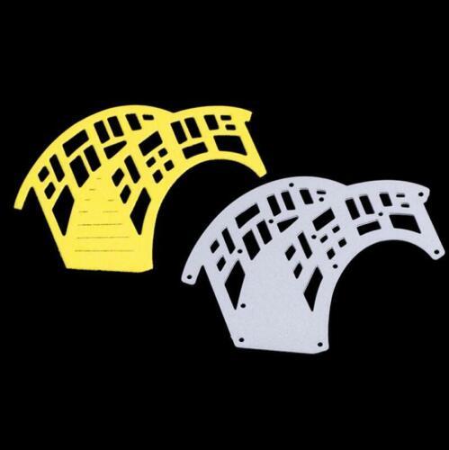 Bridge Metal Dies Cutting Dies Scrapbooking Embossing Cut Stencils Cards Craft