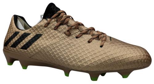 Adidas Messi 16.1 FG Hommes Chaussures de foot ba9109 cames or T 39-46 NOUVEAU neuf dans sa boîte