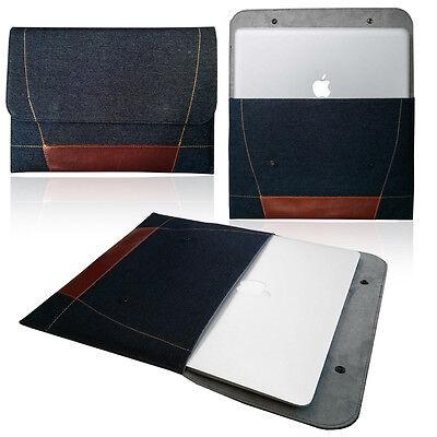 Smart laptop DENIM Sleeve Case Cover Bag for Apple MacBook Pro, Retina & Air