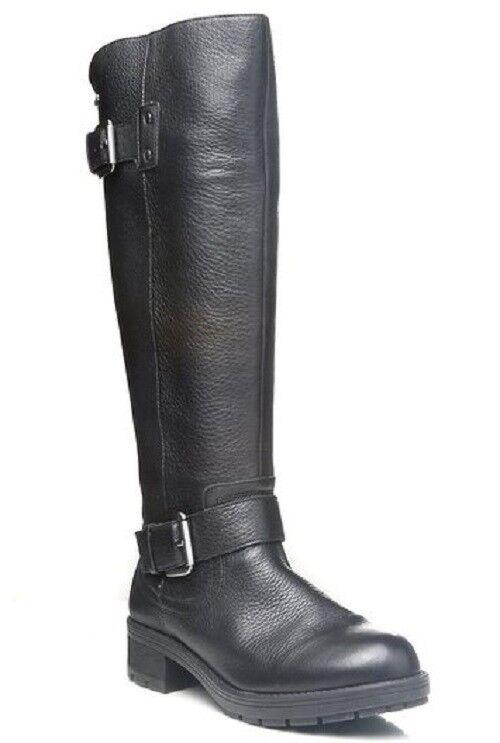 Clarks Ladies Warm Lined Tall Boots REUNITE HI GTX Black Leather UK 5   38