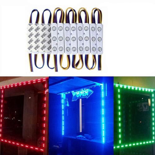 20-100 x 3Leds SMD 5050 RGB LED Module Strip Band Lamp Backlight DC 12V IP67