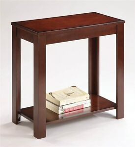 Image Is Loading Traditional Style Espresso Finish Side End Table 24